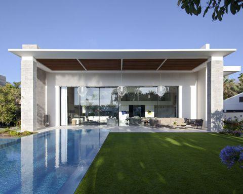 pergola alluminio piscina