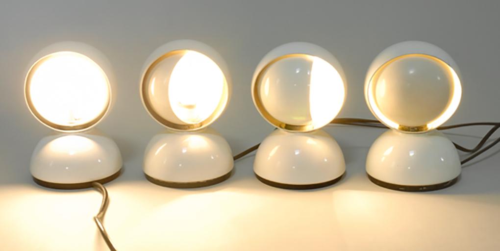 La lampada eclisse di vico magistretti in fissa per - Lampada da tavolo vico magistretti ...