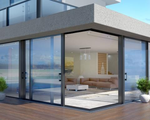 serramenti alluminio casa