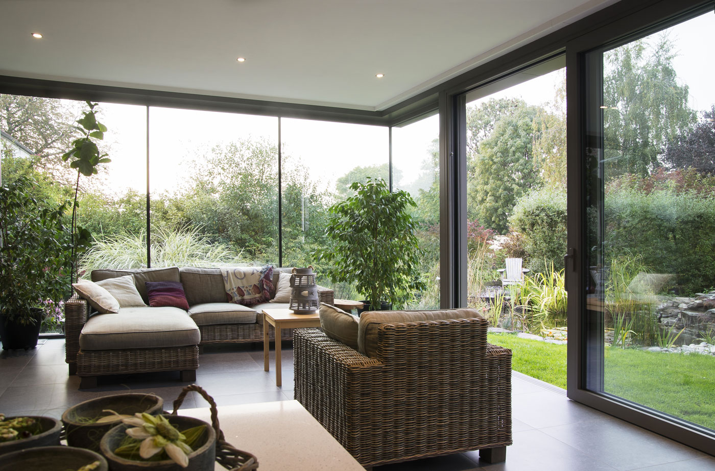 Giardini d inverno per impreziosire la tua casa in fissa per - Giardino d inverno in terrazza ...