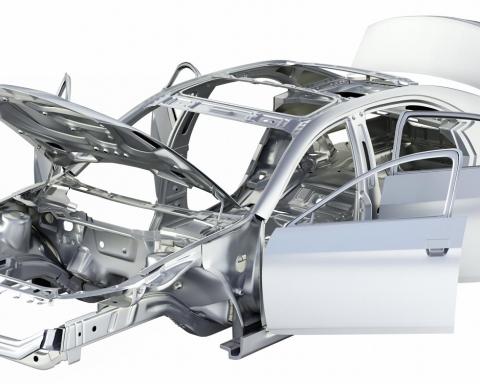 telaio-alluminio-auto