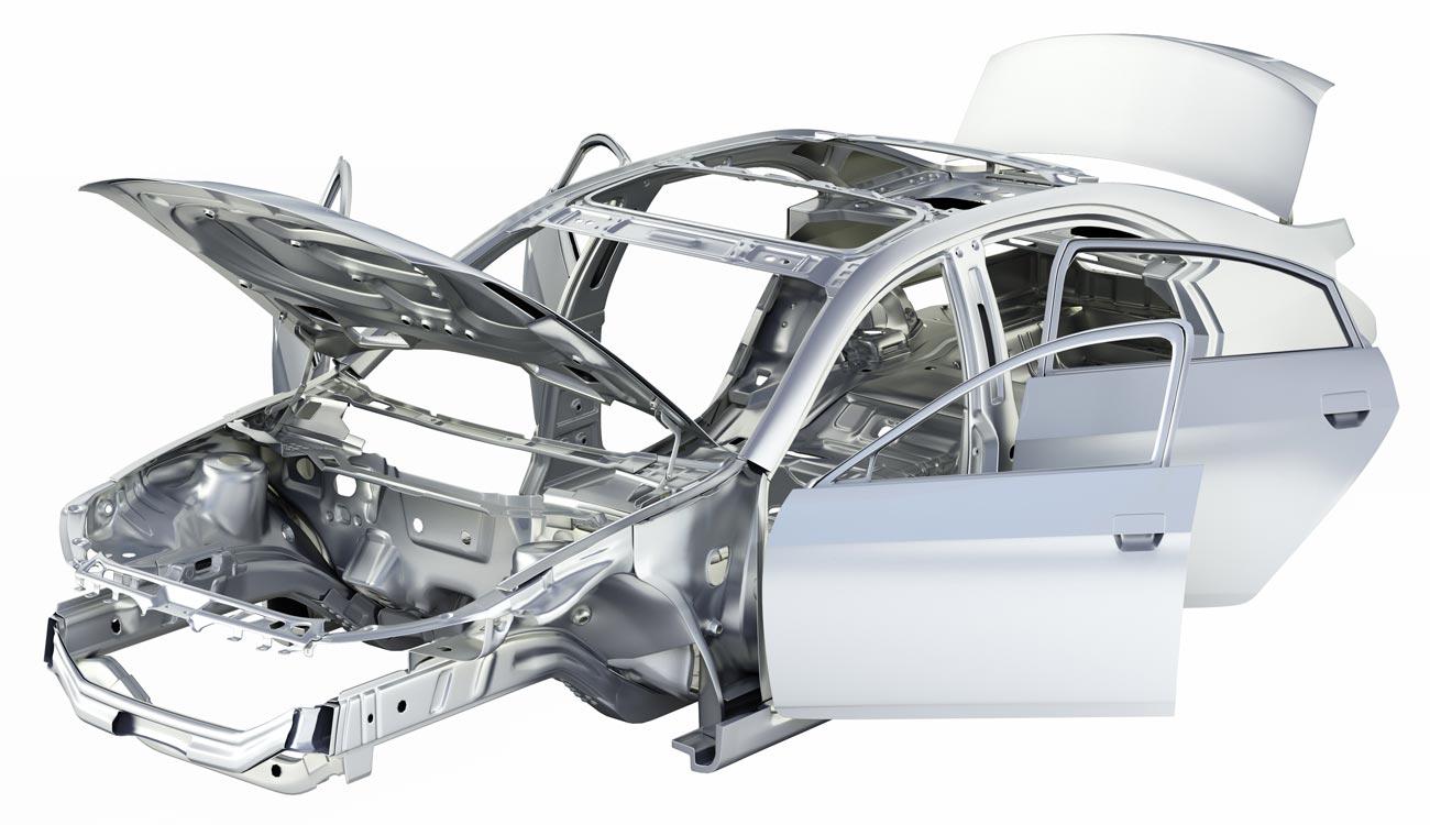 Alluminio e automobili una coppia perfetta in fissa per for Una planimetria della cabina del telaio
